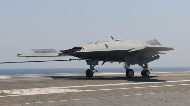 northrop grumman navy drone